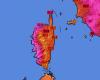 Meteo da record in Corsica, clamorosi 40 gradi ad Ajaccio
