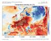 Meteo in Europa: mostruose anomalie termiche dell'ondata di caldo