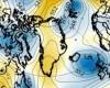 NAO negativa per 84 giorni consecutivi, è record, conseguenze sul meteo