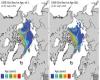 Crisi del clima: ghiacci dell'Artico ai minimi storici di estensione
