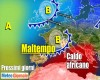 Meteo Italia: piogge al Nord, CALDO ESAGERATO altrove