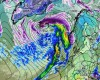 Ciclone sull'Islanda da paura! Vento a 250 km/h con 6 gradi sotto zero!