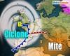 Meteo settimana verso uno sconquasso: potente area ciclonica