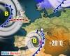 Meteo influenzato dal susseguirsi di aree cicloniche. Temperatura in aumento