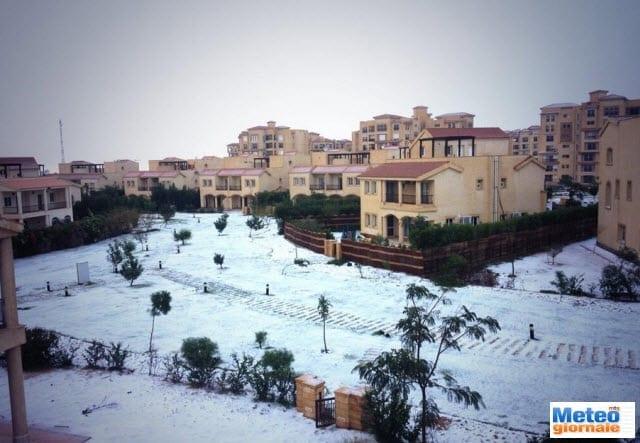 01 - Nevica al Cairo: è l'ondata di freddo rubata all'Italia
