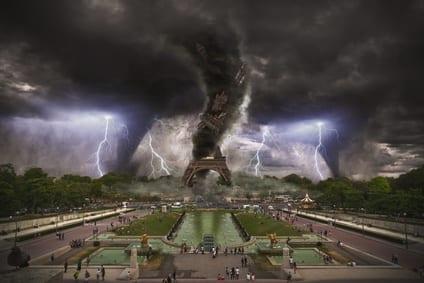 cataclisma clima - Catastrofi meteorologiche imprevedibili per effetto dell'aumento delle eruzioni vulcaniche