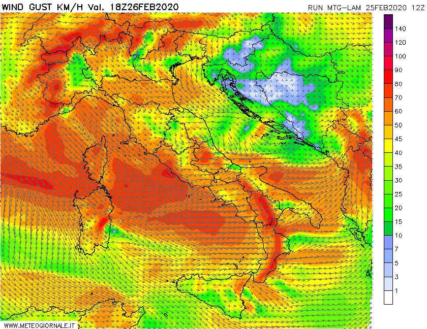 01 2 - Video Meteo: grosse Tempeste d'Europa verso Mediterraneo, Novità