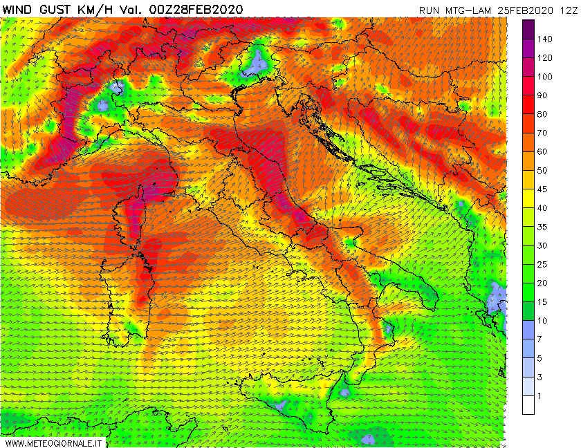 02 2 - Video Meteo: grosse Tempeste d'Europa verso Mediterraneo, Novità