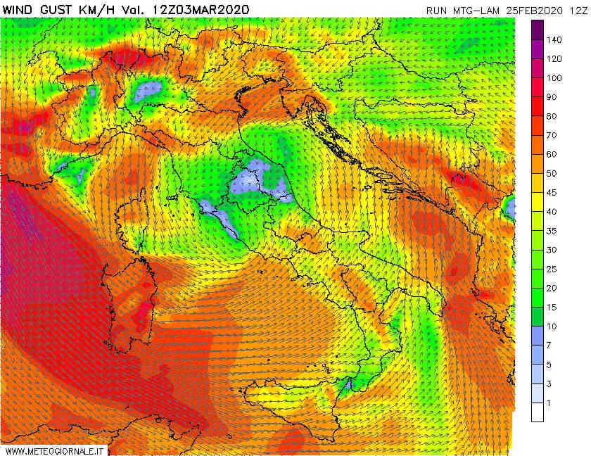03 - Video Meteo: grosse Tempeste d'Europa verso Mediterraneo, Novità