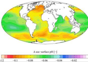aumento livello mari oceani 350x250 - Le FOLLIE di marzo: dal FREDDO al TEPORE in pochi giorni