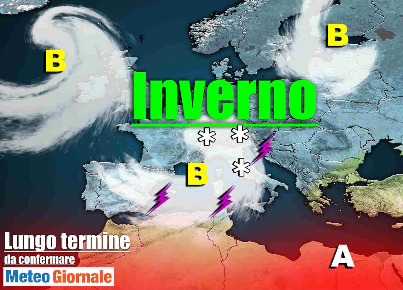 burrascoso e invernale - Meteo sino al 10 Marzo: Improvviso e acuto INVERNO con Maltempo