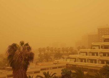 calima isole canarie tempesta sabbia scaled 1 350x250 - Isole Canarie, Calima innescato da meteo estremo d'Africa