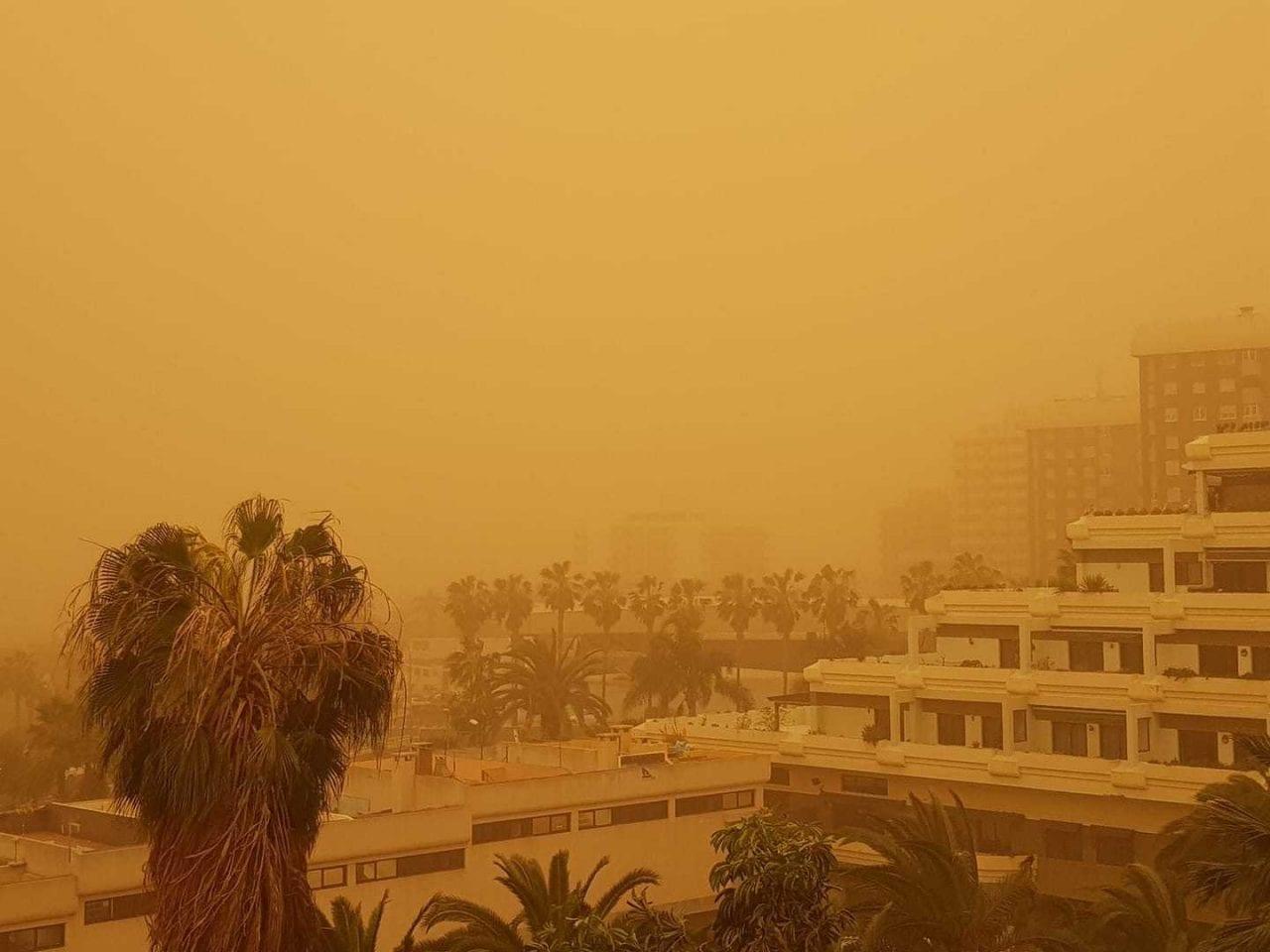 calima isole canarie tempesta sabbia scaled 1 - Isole Canarie, Calima innescato da meteo estremo d'Africa