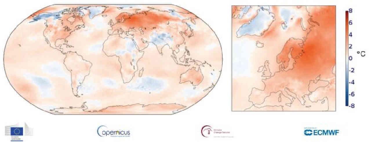 caldo inverno europa - Europa, la conferma: è stato l'Inverno più CALDO di sempre