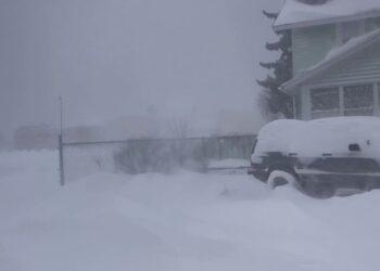 in mezzo al blizzard da lake effect neve incredibile 350x250 - Le FOLLIE di marzo: dal FREDDO al TEPORE in pochi giorni