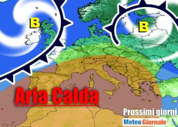 meteo con alta pressione primaverile 1 350x250 - Meteo Italia sino al 20 Marzo: si sveglia il vento dell'Est