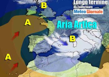 meteo con aria artica 350x250 - Le FOLLIE di marzo: dal FREDDO al TEPORE in pochi giorni