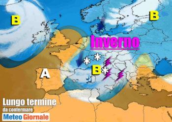 meteo con frequenti perturbazioni 350x250 - Meteo Italia sino al 14 marzo, FREDDO poi MITE poi ancora FREDDO