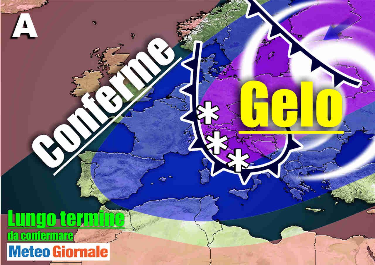 meteo lungo termine 1 - Meteo Italia: Marzo ci porta l'Inverno quando non serviva. Attese anche gelate