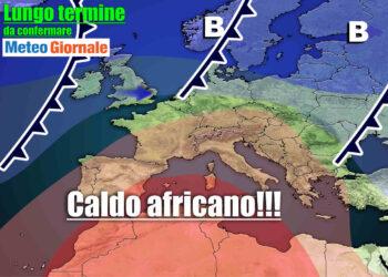 meteo lungo termine caldo africano 350x250 - Meteo Italia sino all'11 aprile, torna il CALDO ANTICICLONE