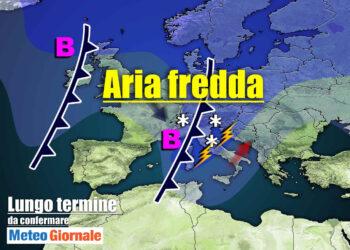 meteo lungo termine con maltempo frequente 350x250 - Meteo Italia sino all'8 aprile, tra TEMPORALI e FREDDO improvvisi