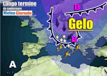 meteo lungo termine con maltempo invernale e freddo 350x250 - Meteo Italia sino al 6 aprile, continuerà a far FREDDO invernale