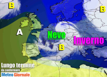 meteo lungo termine neve freddo 1 350x250 - Meteo sino al 10 Marzo: Improvviso e acuto INVERNO con Maltempo