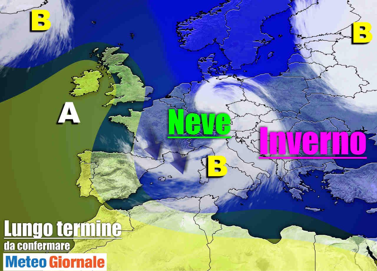 meteo lungo termine neve freddo 1 - Meteo Italia sino al 13 Marzo, raffica di FREDDO e Maltempo: è INVERNO