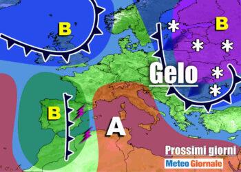 meteo prossimi giorni con alta pressione e poi freddo 350x250 - Meteo Italia sino al 20 Marzo: si sveglia il vento dell'Est