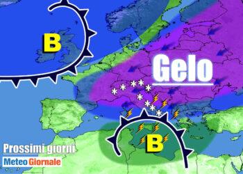 meteo prossimi giorni freddo con neve a quote basse 350x250 - Meteo Polare NOVITÀ, escalation di URAGANI anche di NEVE