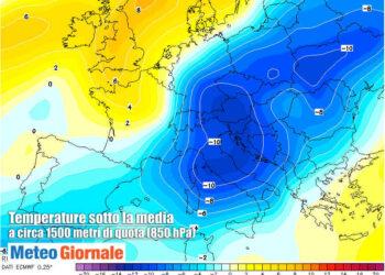 previsioni meteo di freddo siberiano su italia 350x250 - Coronavirus, Bergamo, ospedale di Treviglio, testimonianza commovente. Video