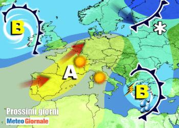 meteo 7 g 1 350x250 - Meteo prossimi giorni: esplode la Primavera nel Week End con CALDO intenso