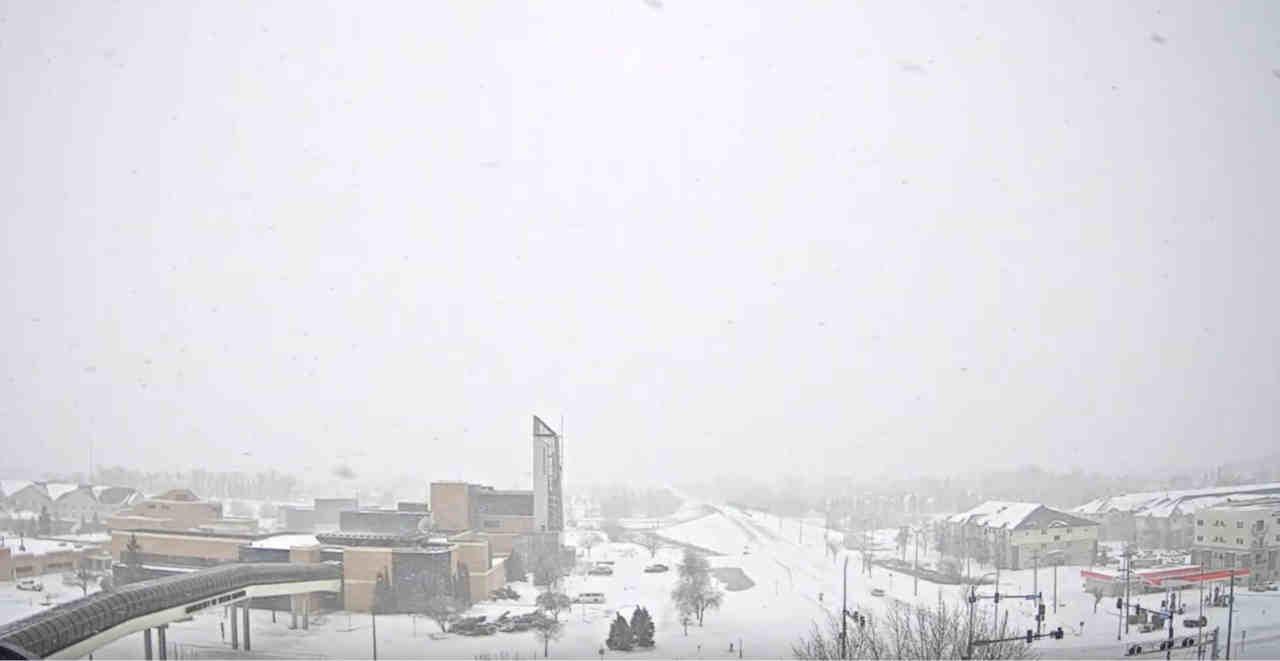 neve dakota del nord - Stati Uniti, ancora tempeste di NEVE!