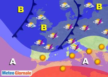 01 1 350x250 - Meteo Giugno improvvisi contrasti termici: Polo Nord e Africa, obiettivo Italia