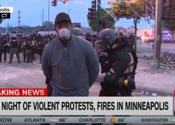 cnn 350x250 - Minneapolis, giornalista afroamericano della Cnn arrestato IN DIRETTA senza motivazione