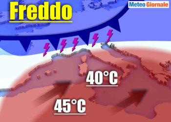 forti contrasti termici meteo estremo di giugno 2020 350x250 - Bombe meteo: temporali cattivissimi in azione. Evoluzione ITALIA