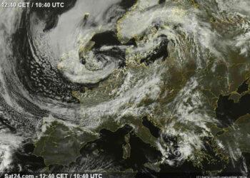 meteo ciclonico 350x250 - Aggiornamento: meteo TEMPESTOSO vicino al Mediterraneo a Italia