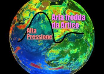 meteo prossimi giorni con aria artica su europa 350x250 - Meteo davvero pessimo: dove è finita l'Estate?