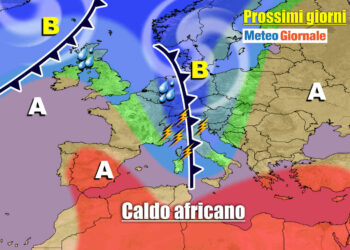 meteo prossimi giorni con perturbazioni e temporali 350x250 - METEO al 10 Giugno: eccezionale serie di TEMPORALI. Rischio GRANDINE