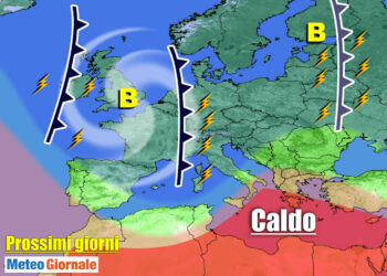 meteo prossimi giorni nuovi temporali 350x250 - METEO al 10 Giugno: eccezionale serie di TEMPORALI. Rischio GRANDINE