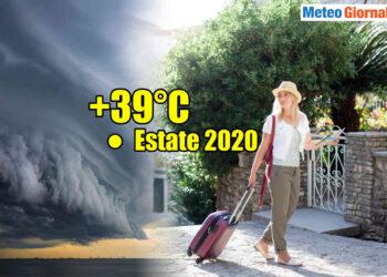 meteo verso ondata di calore con altri temporali 350x250 - Meteo settimana prossima: caldo rovente. Molto afoso in pianura