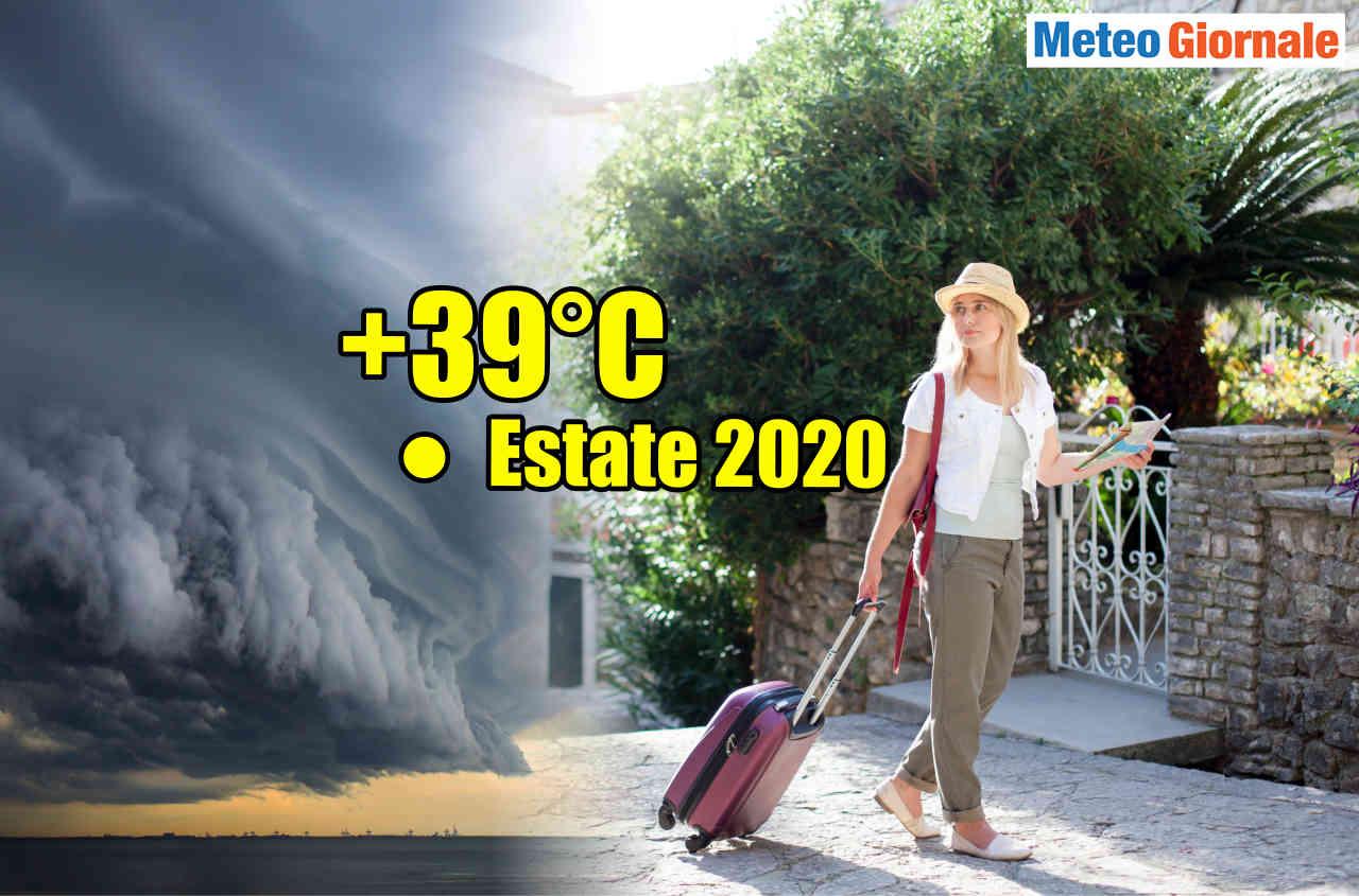 meteo verso ondata di calore con altri temporali - Meteo settimana prossima: caldo rovente. Molto afoso in pianura