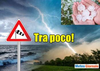 meteo verso peggioramento 350x250 - Meteo verso una nuova raffica di forti temporali. Rischio grandine