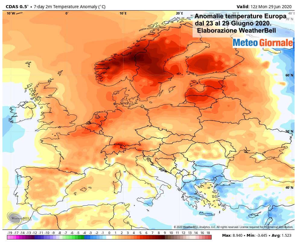 nomaly - ESTATE ROVENTE in gran parte d'Europa, prima dello sconquasso meteo