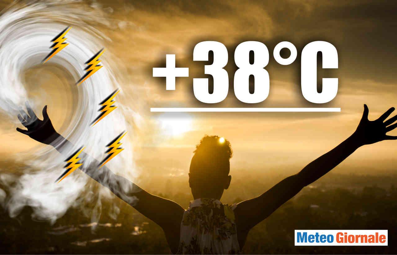 previsione meteo ondate di calore in italia - Meteo Italia, ecco la prima ondata di caldo