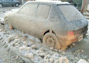 auto 350x250 - GELA il MARE in Argentina. Record, Inverno estremo?
