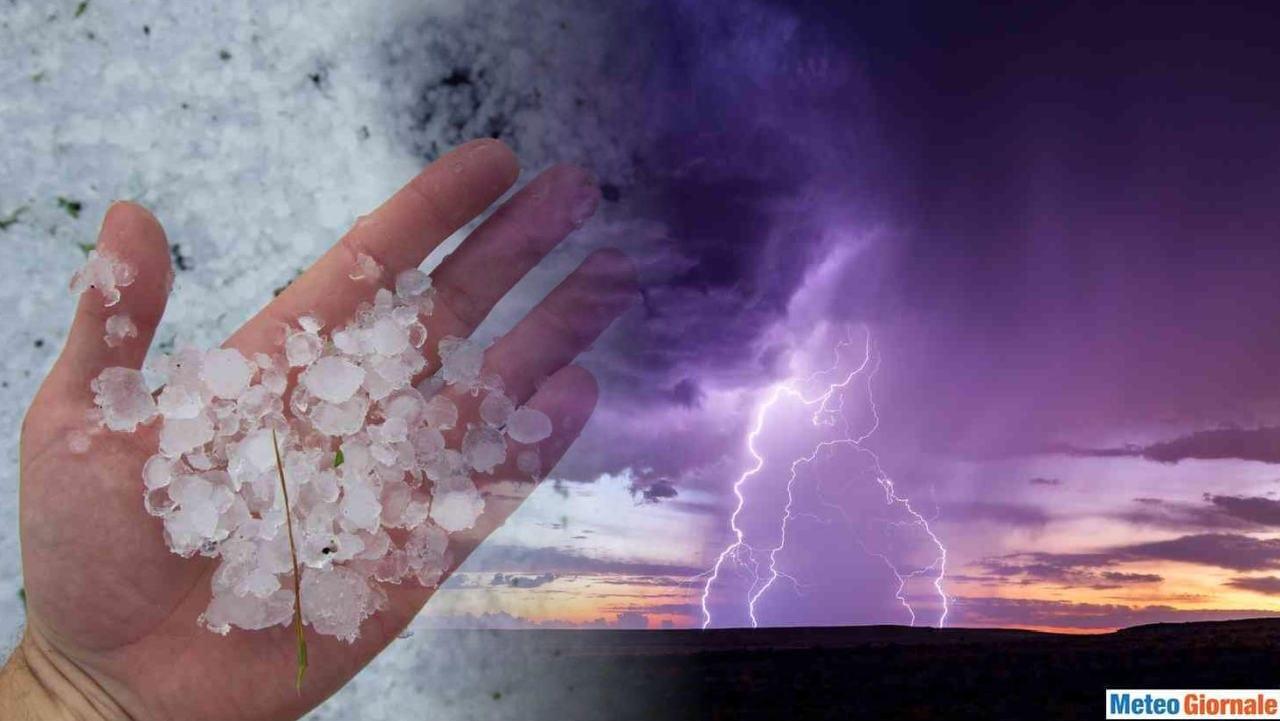 boom - Meteo venerdì 3, SCOPPOLA all'ESTATE. Irrompono forti temporali e GRANDINE
