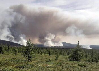 firesiberian 350x250 - SIBERIA IN FIAMME, la situazione si aggrava. Colpa del cataclisma meteo