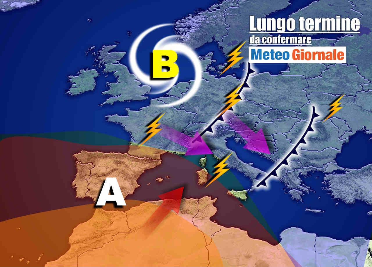 meteo 17 luglio - Meteo sino al 17 luglio, sarà break di TEMPORALI!