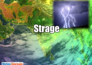 meteo con tempesta di fulmini in india e vittime 350x250 - India, strage per tempeste di fulmini, decine di morti